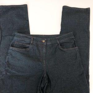Eileen Fisher brand jeans straight
